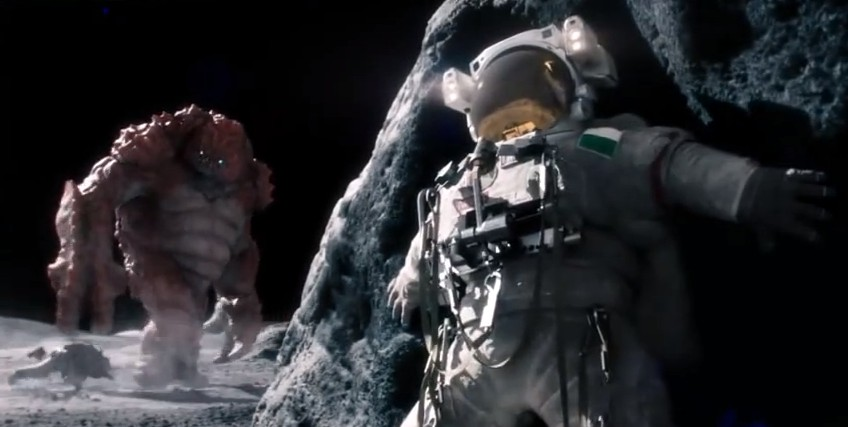 Monster is Attacking Astronauts in Space. There was a Lone Survivor…Until!…