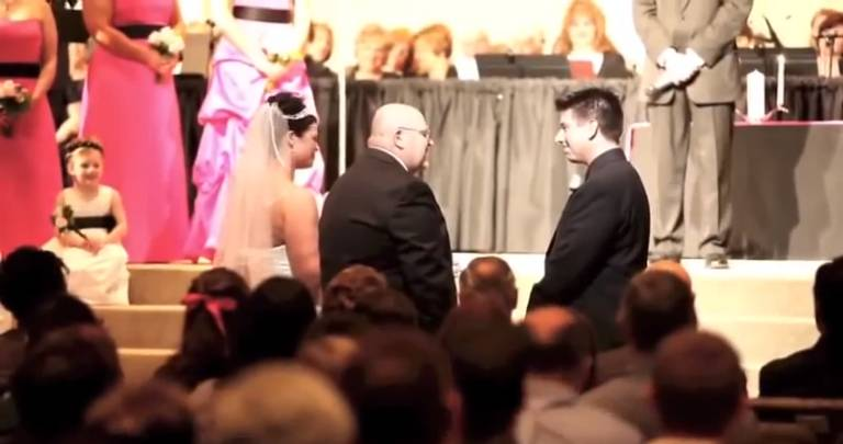Father of the Bride Breaks the Silence with His Speech to the Groom!