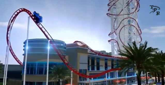 Skyscraper: World's Tallest Roller Coaster. Would You Take a Ride?