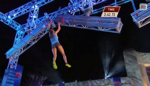 The First Woman to Complete American Ninja Warrior Course. Watch This!
