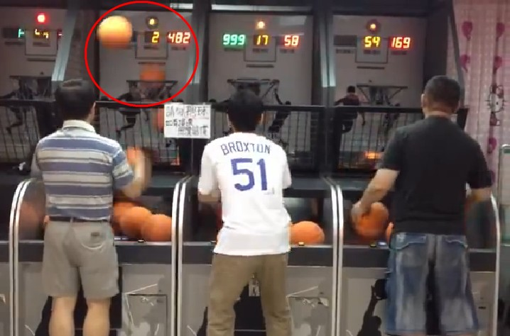 Expert Basketball Shooter Does It with Ease Then Gets Bored and Leaves Just Like That