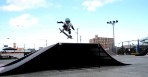6-Year-Old Skater Defies Traditional Skate Boarding
