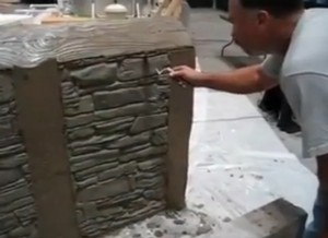 Wall Plaster Finish Sculpture: Turning Concrete Stamping Into an Art