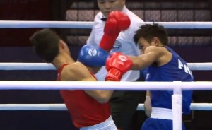 Watch: Ian Clark Bautista Knocks Opponent Down Using Dempsey Roll Combo in 28th SEA Games in Singapore
