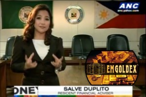 Analysis on EMGOLDEX Investment Scheme By ANC's Resident Financial Advisor, Salve Duplito