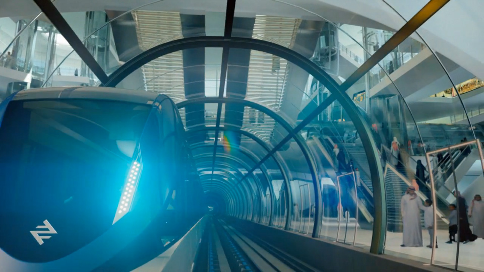 Riyadh's Ultra Modern Transport Systems that Will Physically Connect People with Their Interests