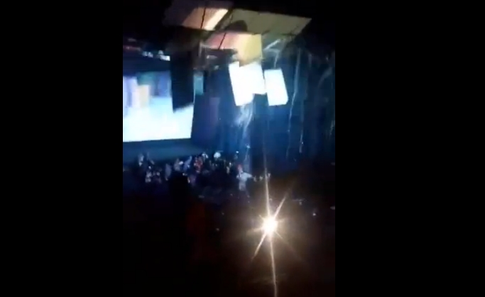 Roof in Ayala Cebu Cinema Collapsed
