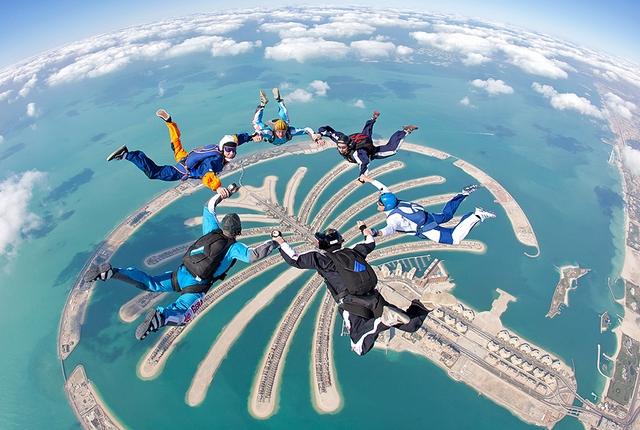 Free-Fall Your Way to Ecstasy in Dubai
