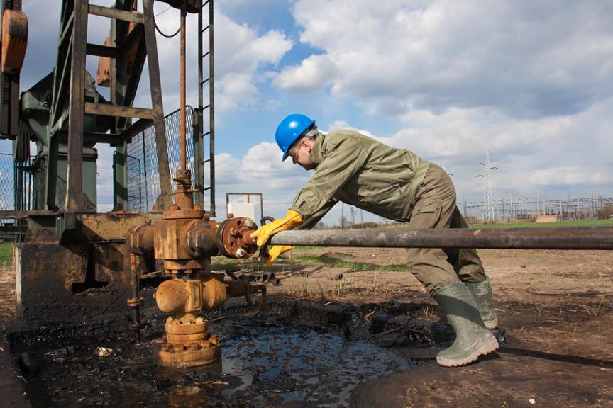 BigStockPhoto-Oil Rig Worker