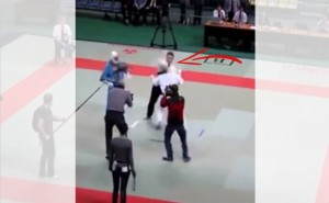 This is What Happens When the Referee Loses His Temper Over Unruly Players in a Karate Competition