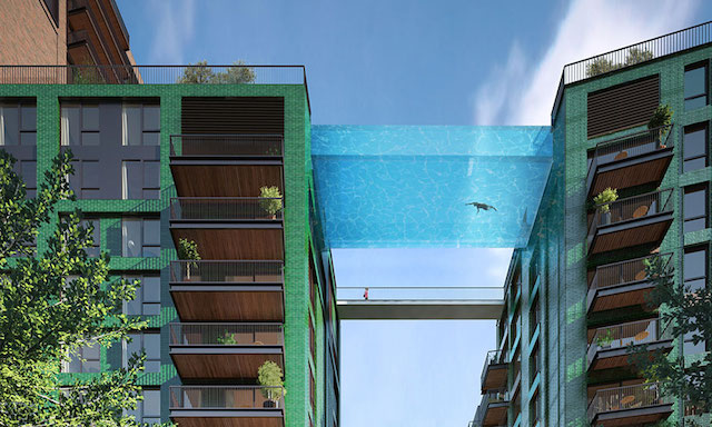 """Would You Swim Through The Air In A """"Sky Pool""""?"""