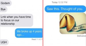 Hilarious Texts From An Ex To Remind You Why You Broke Up
