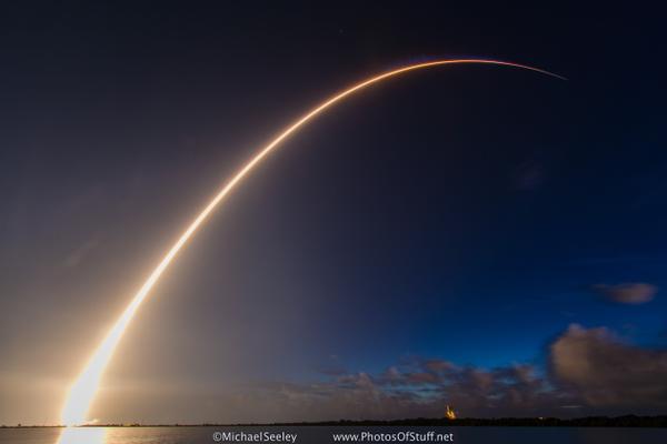 Atlas V Satelite