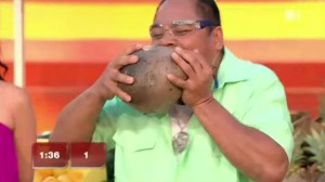 Bare Teeth and Jaw Power to Peel Coconuts! Would This Pinoy Make It?