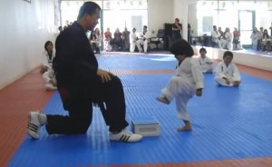 """Ayah!"" But the Board Wouldn't Break for this Taekwondo Kid. Would It Ever?"