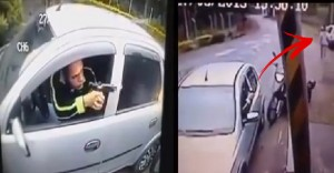 Watch: Robbery Gone Wrong When Victim Pulls Out A Gun!