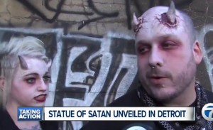 9-Foot Tall Bronze Statue of Satan Unveiled. Then what?