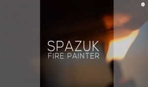This Guy Paints Using Fire Literally. But How Hot are his Artworks?