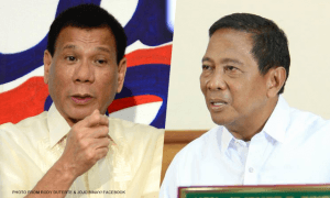 Duterte to Support Binay Once He, Poe Declared DQ'ed