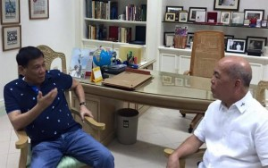 "Duterte Meets Davao Archbishop: ""Admonished and Lectured on Christian Values"""
