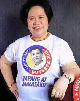Meriam Defensor Santiago Fake Shirt