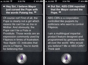 What Siri REALLY Has to Say About Duterte's Cursing