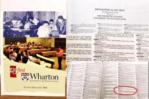 Wharton Confirms Roxas Is An Alumni