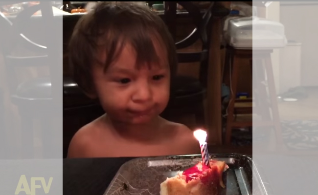 We Never Knew Blowing Out A Candle Is This Hard… Or Funny!