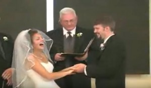 Laughing Is Indeed the Best Way to Start A Marriage!
