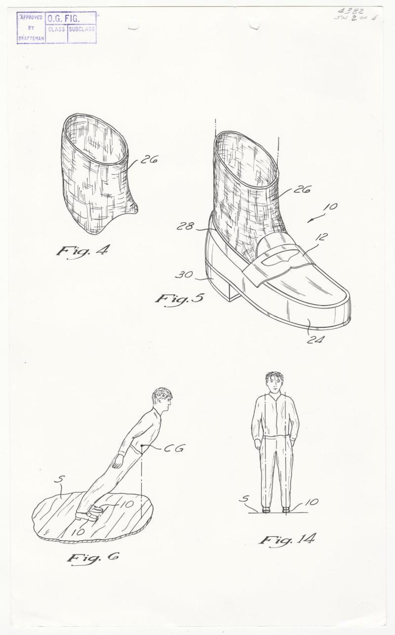 Michael Jackson Anti Gravity Shoe