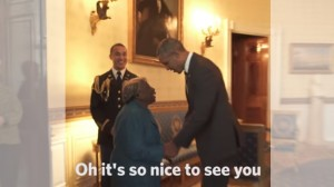 106-Year-Old Woman Met the Obamas And It Got Her Dancing
