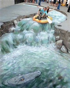 Walking Will Always Be Fun If You Pass By These Realistic-Looking Sidewalk Chalk Art Creations