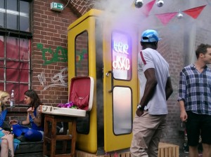 Party At the Smallest Disco in the World!
