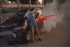 You Get Into An Accident, But Should You Do What This Woman Did?